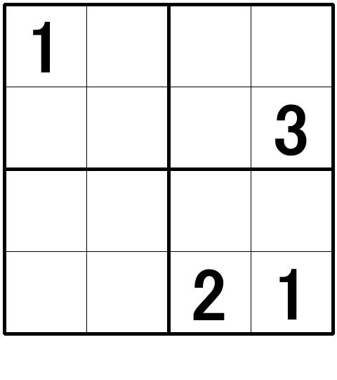 ナンプレ超初級問題10