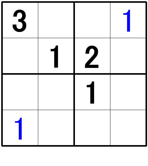 ナンプレ超初級問題7