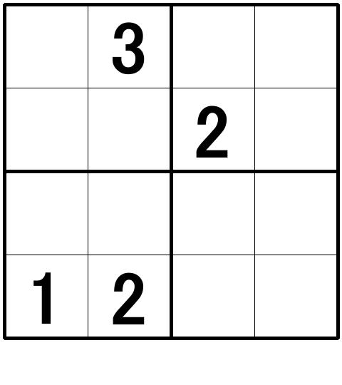 ナンプレ超初級問題9