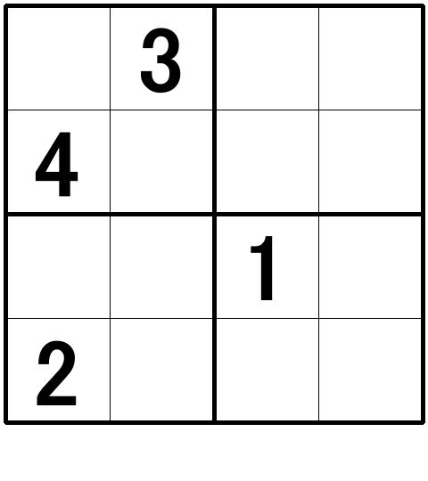 ナンプレ超初級問題8の解答